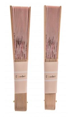 24 Éventails Bambou 23cm