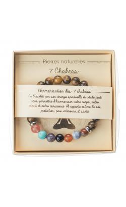 Présentoir 72 Bracelets Pierres Naturelles 7 Chakras